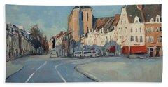 View To Boschstraat Maastricht Beach Towel