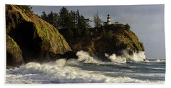 Vigorous Surf Beach Towel