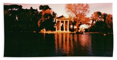 Villa Borghesse Rome Beach Towel