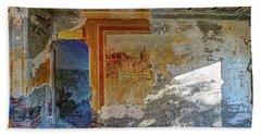 Villa Giallo Atmosfera Artistica - Artistic Atmosphere Beach Sheet