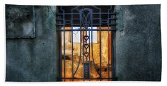 Villa Giallo Atmosfera Grafica II - Graphic Atmosphere II Beach Towel