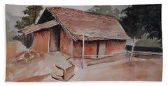 Village Hut Beach Sheet