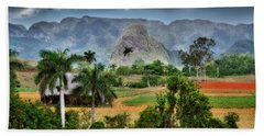 Vinales. Pinar Del Rio. Cuba Beach Sheet