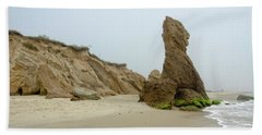 Vineyard Rocky Beach Beach Towel
