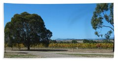 Vineyard Trees Beach Sheet