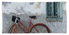 Vintage Series #3 Bike Beach Sheet
