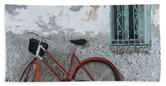 Vintage Series #3 Bike Beach Towel