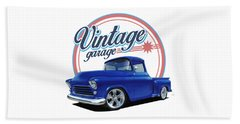 Vintage Candy Truck Beach Towel