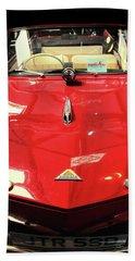 Vintage Car Beach Towel