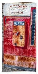 Vintage Coca-cola Machine 10 Cents Beach Towel