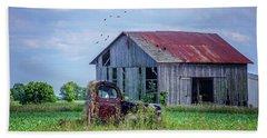 Vintage Farm Find Beach Sheet