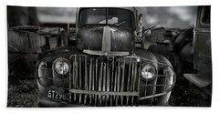 Vintage Ford Truck Beach Towel