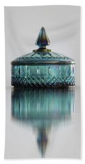 Vintage Glass Candy Jar Beach Towel