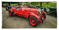 Beach Sheet featuring the photograph Vintage Motors by Adrian Evans