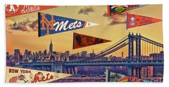 Vintage New York Mets Beach Towel