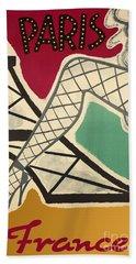Vintage Paris Cabaret Beach Towel by Mindy Sommers