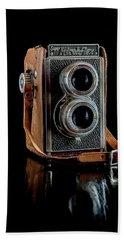 Vintage Ricohflex Camera Beach Towel