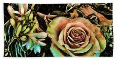 Vintage Rose Beach Sheet