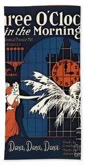 Vintage Sheet Music Covers-jp3504 Beach Towel