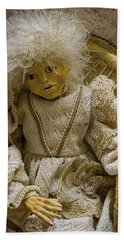 Beach Towel featuring the photograph Vintage Slovenian Doll by Stuart Litoff