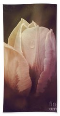 Beach Towel featuring the photograph Vintage Tulip by Mary-Lee Sanders