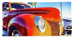 Vintage Vibrance Beach Sheet