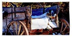 Vintage Western Vision II Beach Sheet