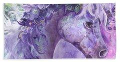 Violet Fantasy Beach Sheet