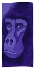 Violet Gorilla Beach Sheet
