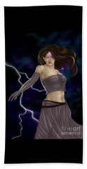 Beach Sheet featuring the digital art Violet Magic by Amyla Silverflame