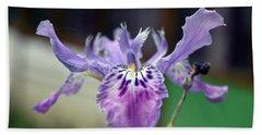 Violet Orchid Beach Sheet