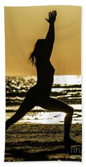 Virabhadrasana_03 Beach Sheet