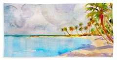 Virgin Clouds Beach Towel