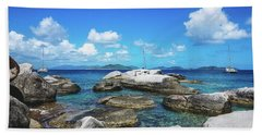 Virgin Gorda Catamarans Beach Towel