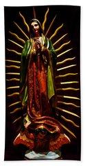 Virgin Of Guadalupe Beach Towel