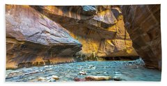 Virgin River Narrows Beach Towel