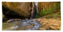 Virgin River - Zion National Park Beach Towel
