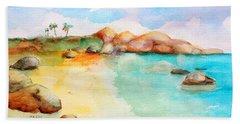 Virgin Rocks Beach Towel