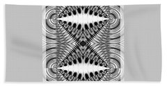 Virtual Illusion-mindset Beach Sheet