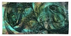Virulent Germination Beach Towel