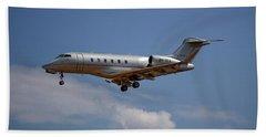 Vista Jet Bombardier Challenger 300 4 Beach Towel