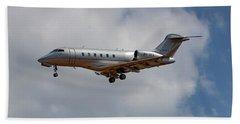 Vista Jet Bombardier Challenger 300 5 Beach Towel