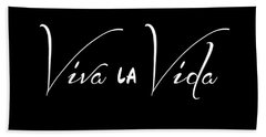 Viva La Vida Beach Towel