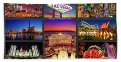 Viva Las Vegas Collection Beach Sheet