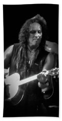 Vivian Campbell - Campbell Tough3 Beach Sheet by Luisa Gatti