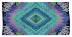 Beach Towel featuring the photograph Exponential Flare 2 by Colleen Taylor
