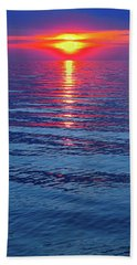 Vivid Sunset - Vertical Format Beach Towel
