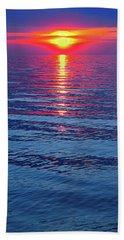 Vivid Sunset - Vertical Format Beach Sheet