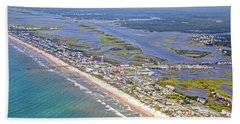 Vivid Surf City Topsail Island Beach Towel
