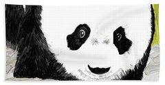 Vivi's Pet Panda Beach Towel